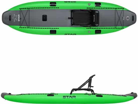 STAR Rival Sit-On-Top Inflatable Kayak