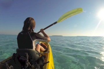 Scuba Diving and Kayaking in Glovers Reef, Belize