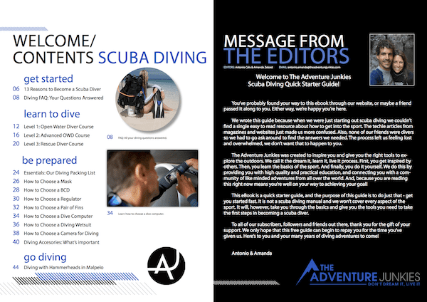 Diving Guide