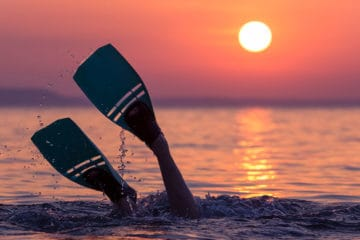 best scuba fin for travel