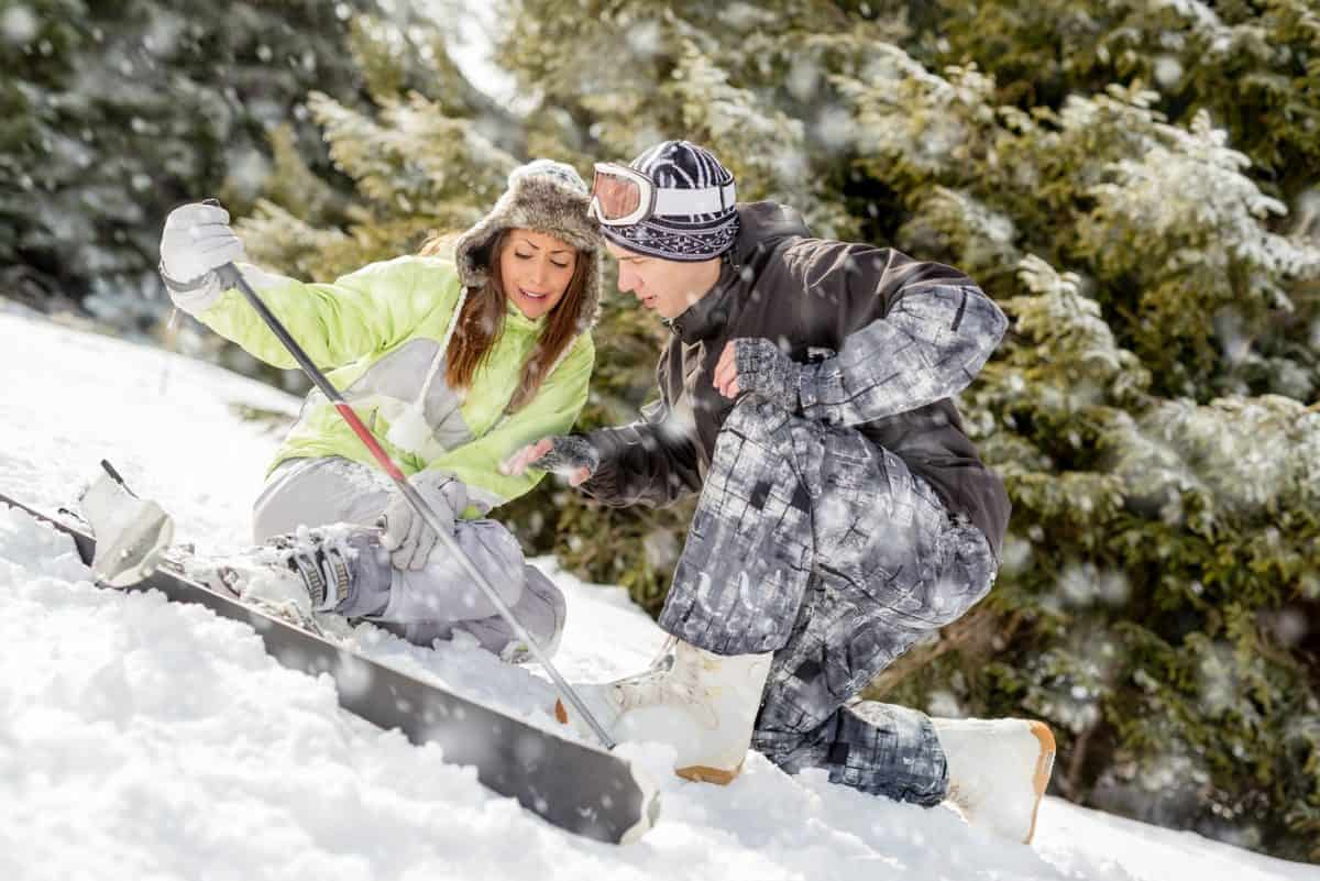 ski and snowboarding injuries