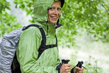 tips for hiking and camping in the rain