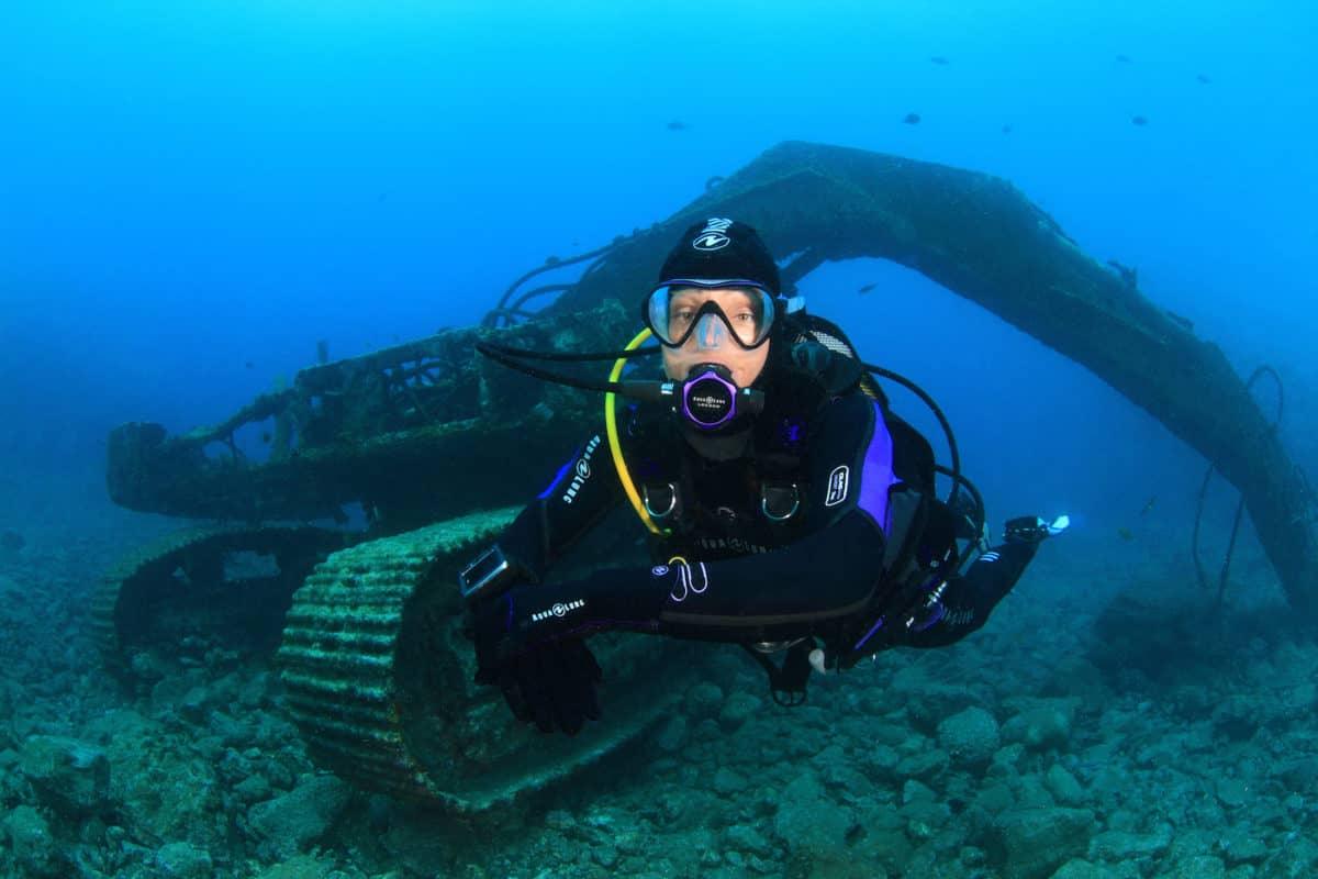 advice to improve buoyancy underwater