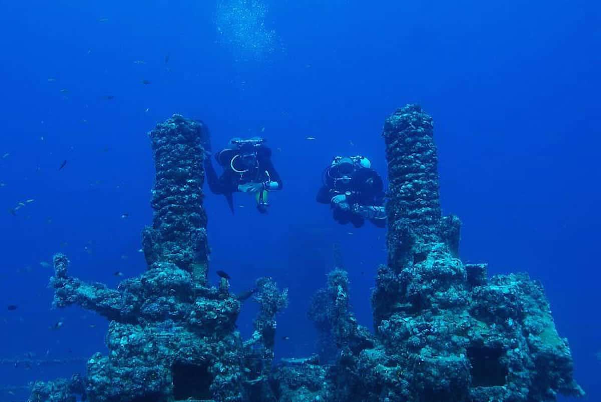 USS Spiegel Grove Wreck - Florida