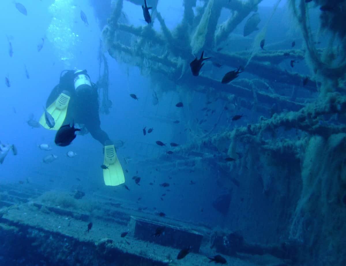 Zenobia Wreck - Cyprus