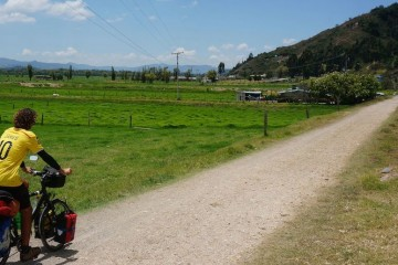 travel budget of bicycle touring in colombia