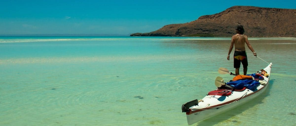 kayaking espiritu santo island mexico