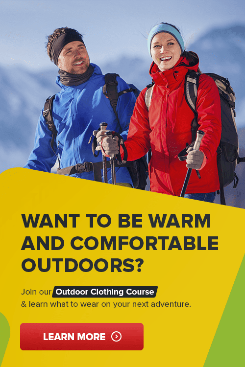 outdoor clothing course