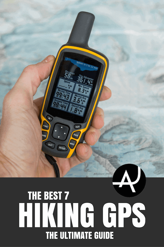 Top 7 Best GPS For Hiking  – Best Hiking Gear and Accessories - Hiking Tips For Beginners – Backpacking Tips and Tricks for Women and Men