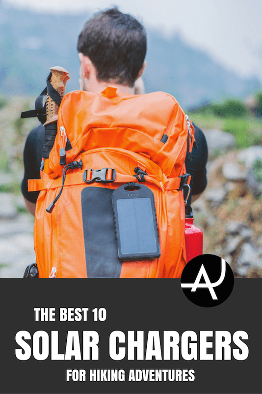 Top 10 Best Hiking Solar Chargers – Best Hiking Gear For Beginners – Backpacking Gadgets – Hiking Equipment List for Women, Men and Kids