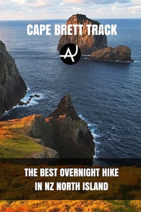 Hiking The Cape Brett Track in New Zealand – Best Hiking Destinations – Hiking Bucket List – Beautiful Backpacking Places To Go On Vacation
