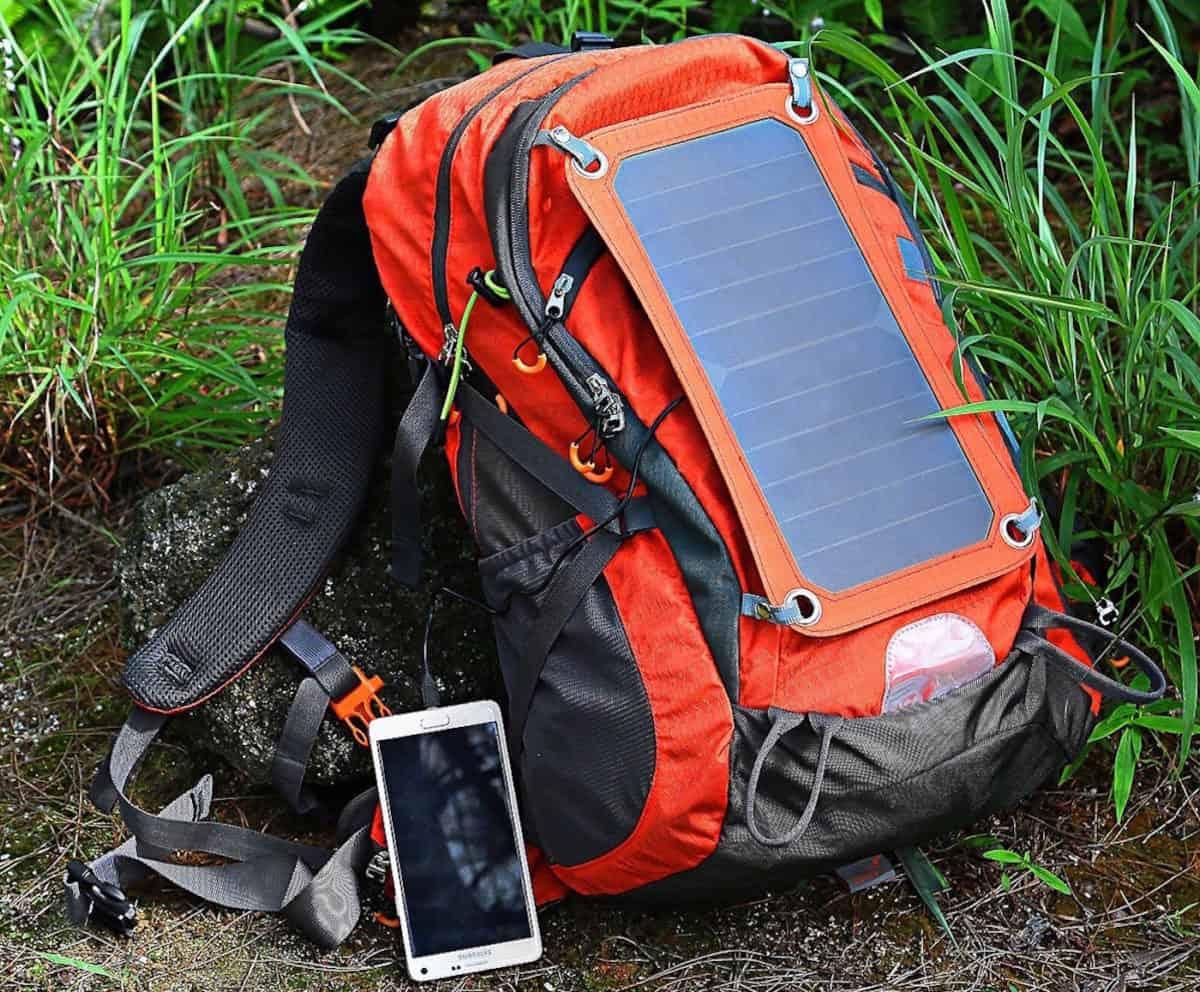 best solar backpacks for hiking