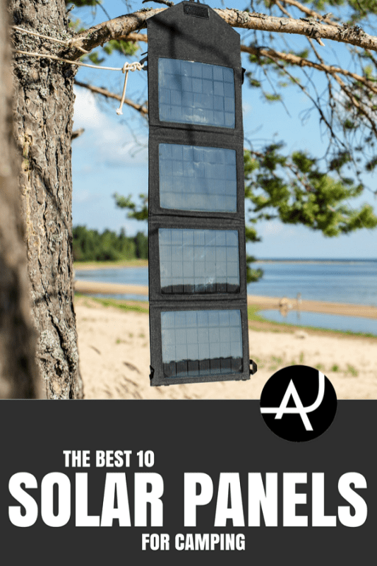 Top 10 Best Solar Panels For Camping – Best Camping Gear – Hiking Gear For Beginners – Backpacking Equipment List for Women, Men and Kids