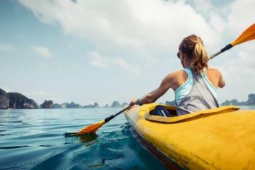best touring kayak paddle