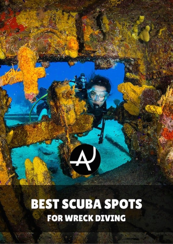 The 10 Best Wreck Dives in the World - Best Scuba Diving Destinations - Diving Bucket List - Adventure Vacations - Beautiful Locations and Places to Dive