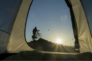 best sleeping bag for bike touring