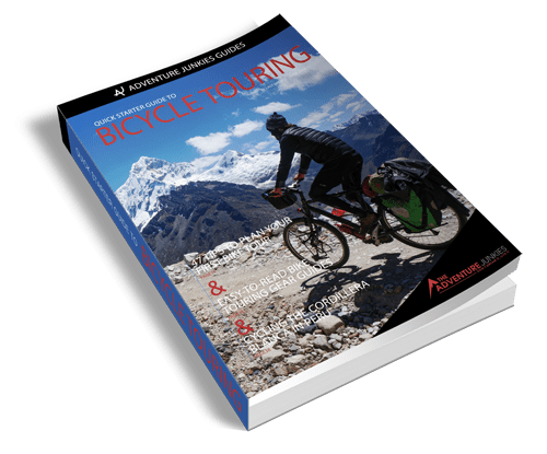quick starter guide to bicycle touring