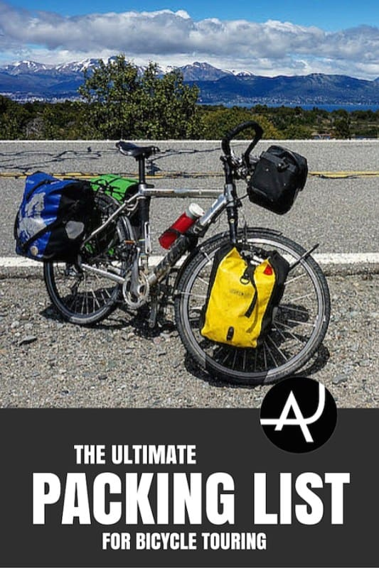 The Full Bike Touring Packing List – Best Bike Touring Gear Articles – Bicycle Touring Product Posts