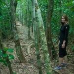 Hiking the Cockscomb Basin Wildlife Sanctuary, Belize.