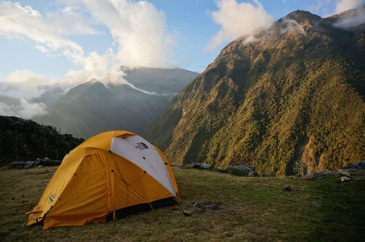 camping on the Choquequirao Trek