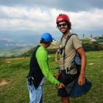 Taking Flight: Paragliding in Santander, Colombia