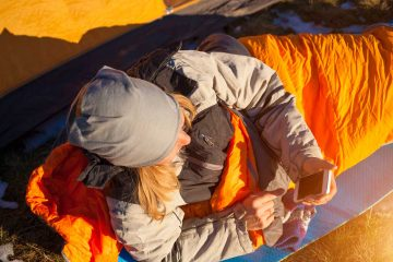 how to get a good night of sleep while hiking