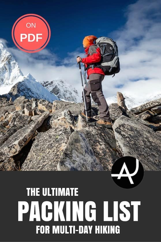 The Ultimate Multi-day Hiking Packing List – Best Hiking Backpacks – Packing Tips For Backpacking – What To Pack For Hiking – Hiking Gear For Women, Men and Kids