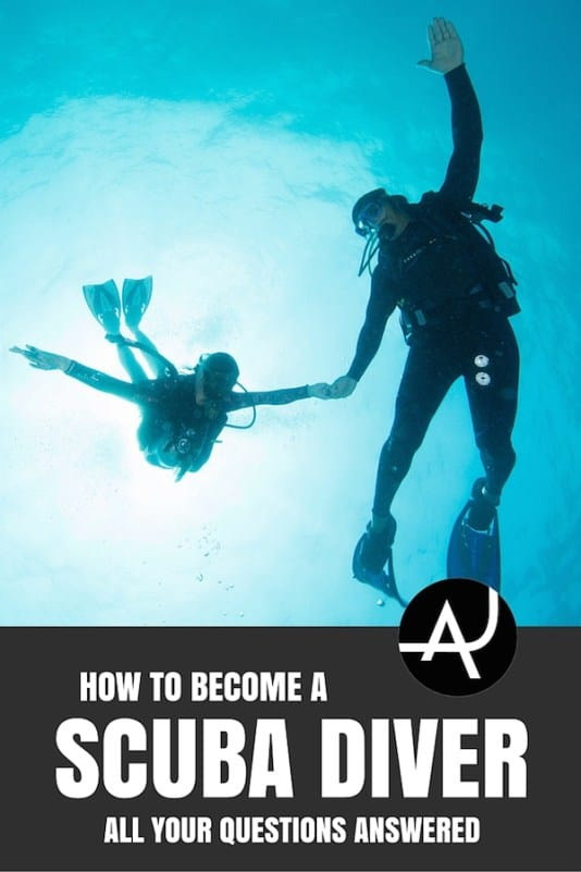 How To Become A Certified Scuba Diver - FAQ • The Adventure Junkies