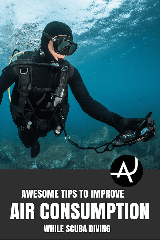 How to Reduce Air Consumption While Diving – Scuba Diving Tips for Beginners – Scuba Diving Articles for Learning and Training