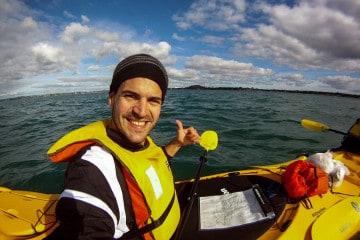 Kayaking the Hauraki Gulf, New Zealand