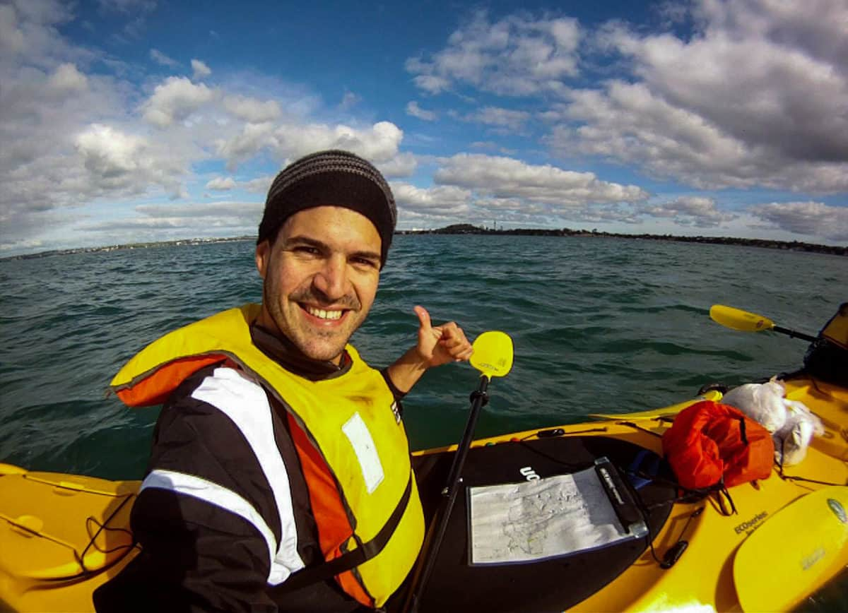 Kayaking the Hauraki Gulf, New Zealand