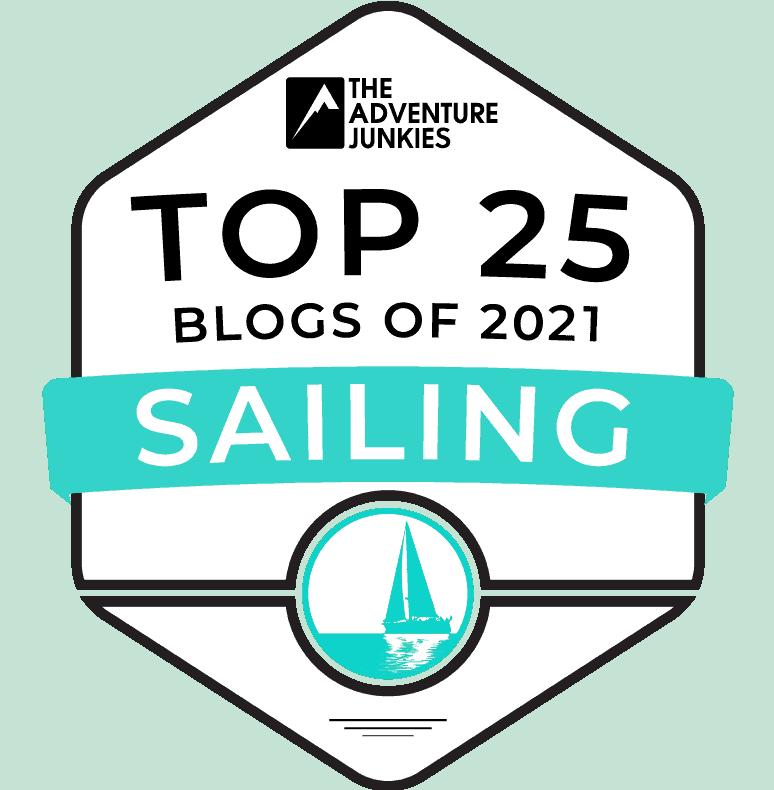 top 25 sailing blogs 2021