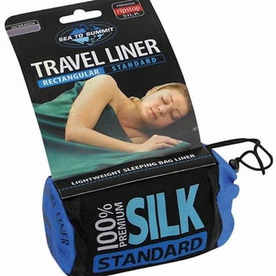 Sea to summit premium silk stretch liner