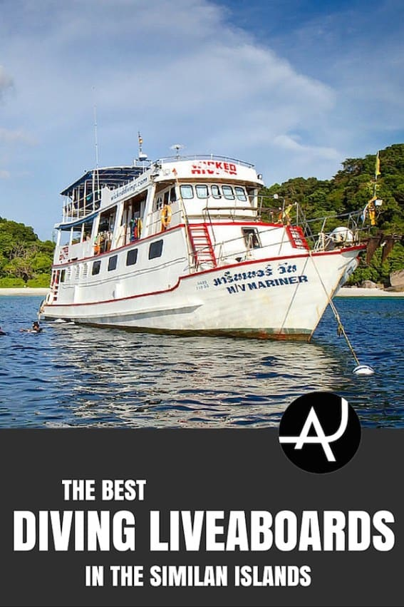 Best Similan Islands Diving Liveaboard Trips - Best Scuba Diving Destinations - Diving Bucket List - Adventure Vacations - Beautiful Locations and Places to Dive