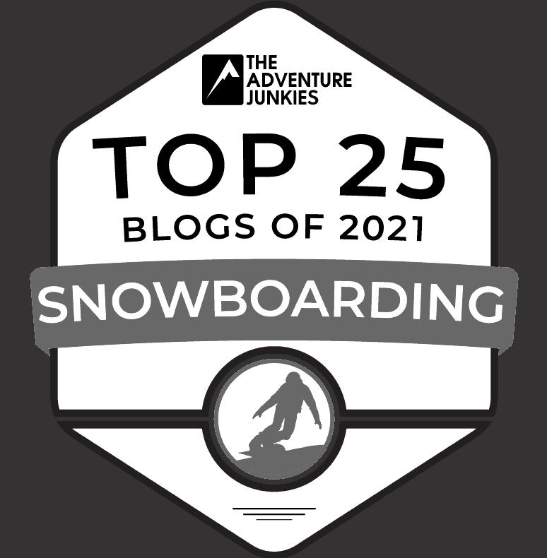 top 25 snowboarding blogs 2021