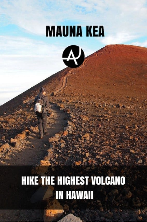 Hiking Mauna Kea Volcano in Hawaii – Best Hiking Destinations – Hiking Bucket List – Beautiful Backpacking Places To Go On Vacation