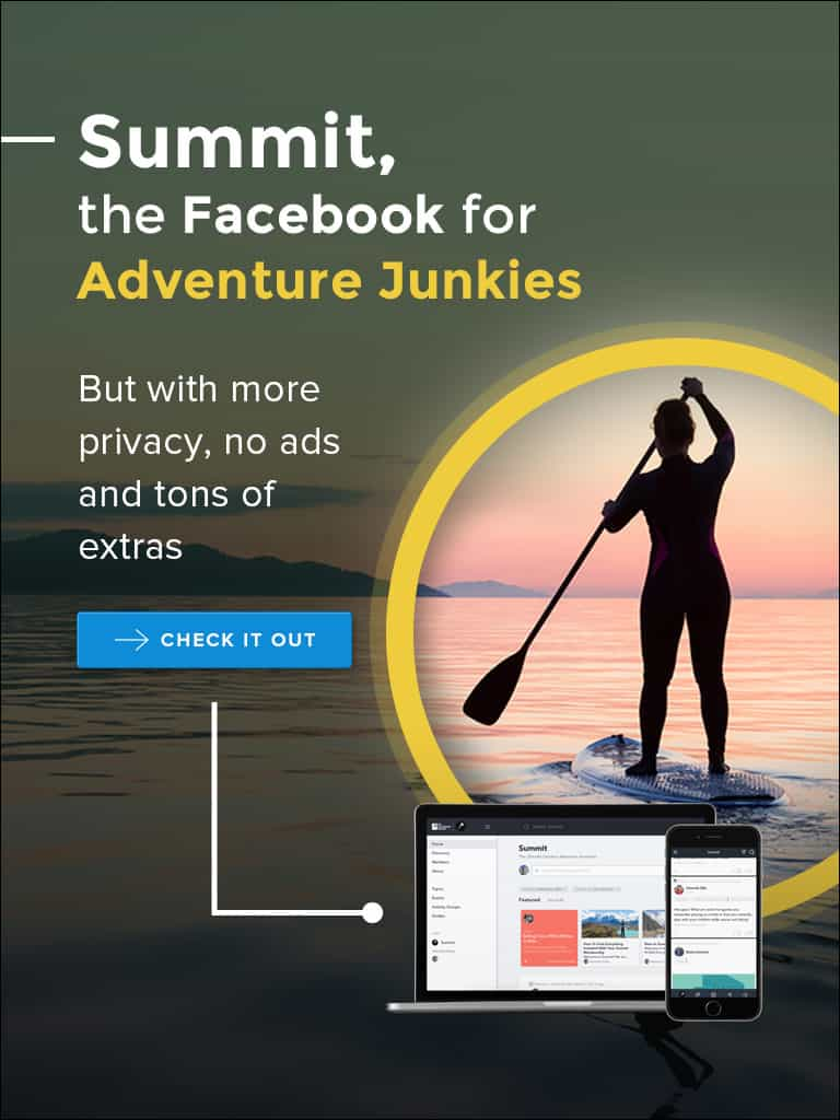 Summit, The Facebook for Adventure Junkies