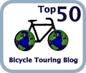 top 50 bicycle touring blogs